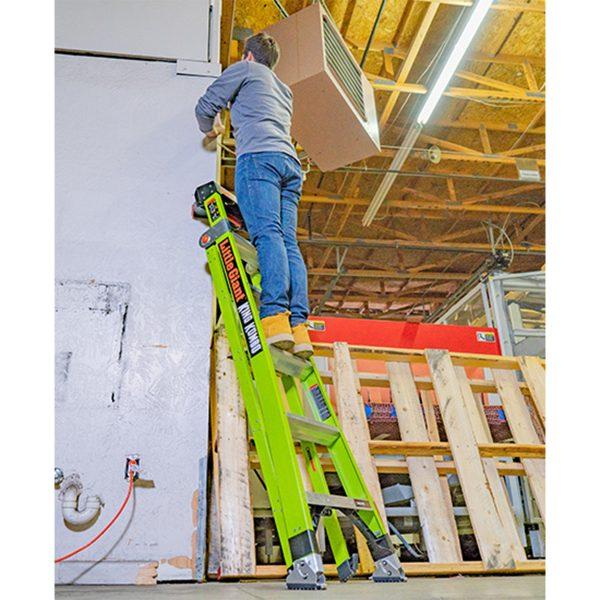 King Kombo Ladder in use