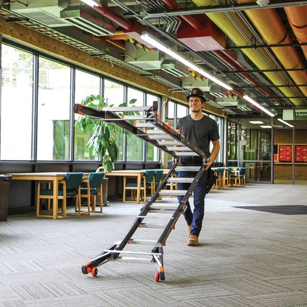 DarkHorse Ladder Wheeling