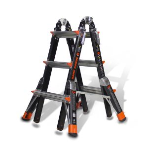 DARK HORSE FIBERGLASS LADDER